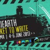 INDIEARTH TICKET TO WRITE – IOMMA 2013