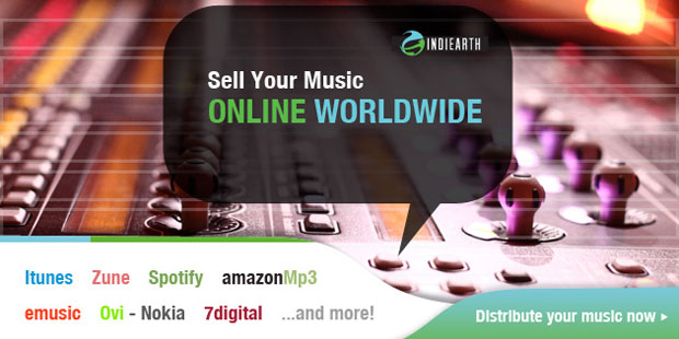 Indiearth Sell Your Music Online